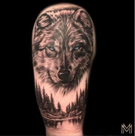 tattoos/ - Matt Morrison Wolf - 139637