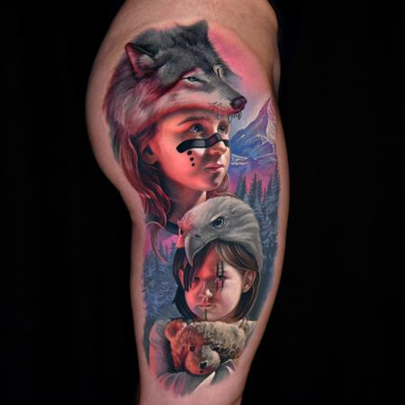 tattoos/ - Little Huntress - 139466
