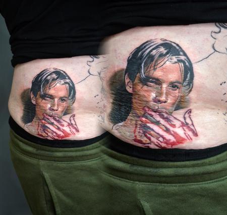 tattoos/ - Billy Loomis Scream Portrait - 139634