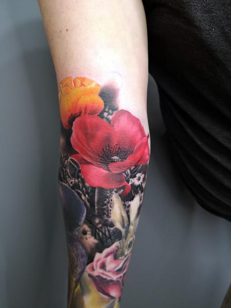 tattoos/ - Poppy Flower Tatoo - 139636