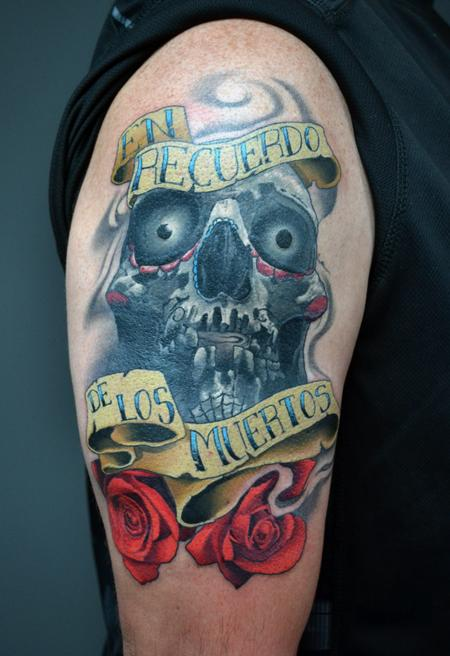 tattoos/ - Day of The Dead Rememberance Tattoo - 139971