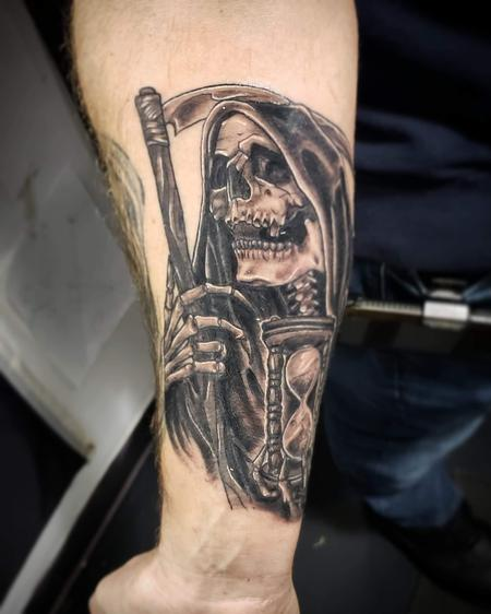 Evil Grim Reaper - Grimm reaper tattoo