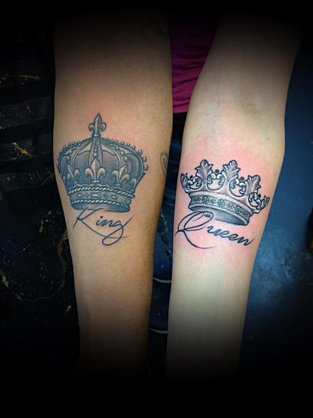 tattoos/ - King and Queen Crown - 138116