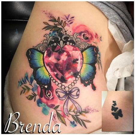 tattoos/ - Butterfly Cover Up - 140296