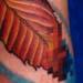 Tattoo-Books - pixelated leaf (detail) - 1302