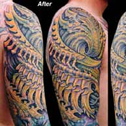 Tattoo-Books - Bio Coverup - 4549