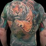 Tattoo-Books - Tiger Backpiece Tattoo - 119570