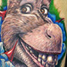 Tattoo-Books - Donkey from Shrek - 43413