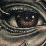 Tattoo-Books - Eye Hand Tattoo - 134128