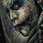 Tattoo-Books - Heath Ledger Joker Tattoo - 134123