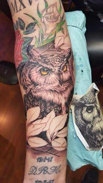 tattoos/ - Great horned owl - 126033