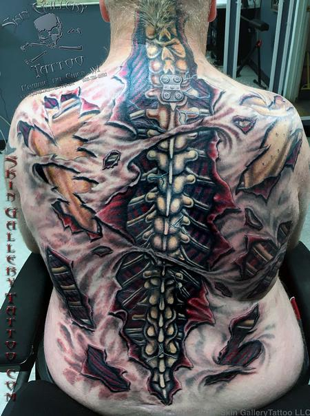 tattoos/ - Ripped Skin Color Backpiece - 121694
