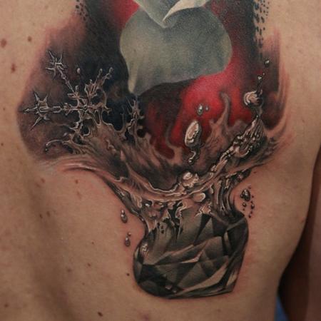 tattoos/ - FreeHand DiamondPiece - 102254