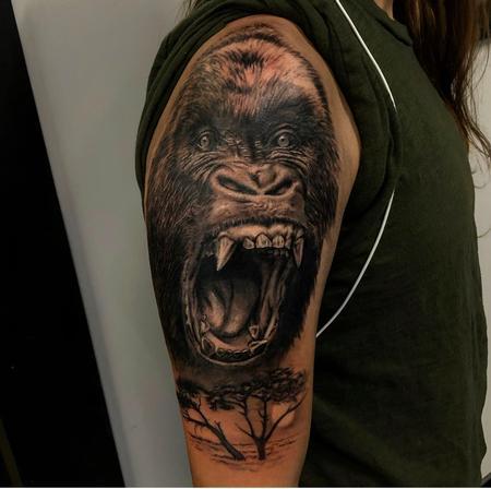 tattoos/ - Gorilla - 139305