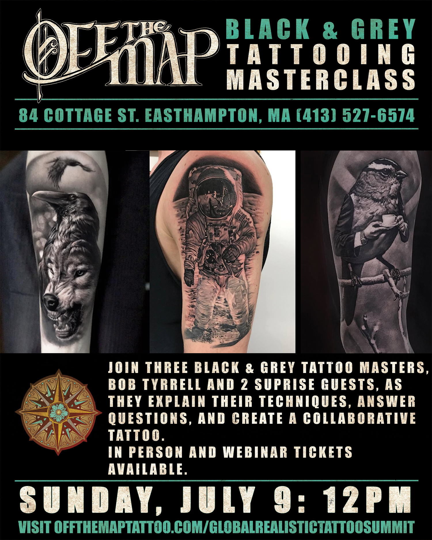 Black & Grey Tattooing Masterclass - Webinar ON DEMAND