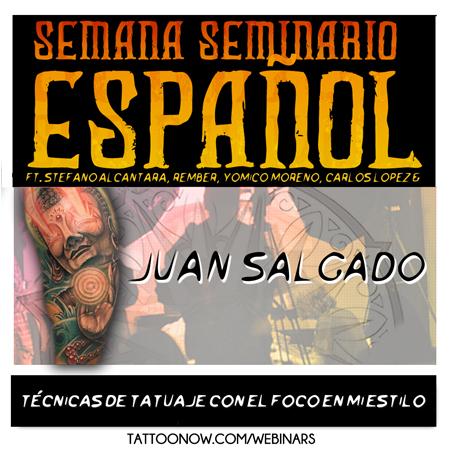 Juan Salgado tatuando en vivo con preguntas y respuestas STREAM